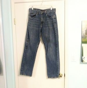 Calvin Klein Relaxed Fit Straight Leg Jeans